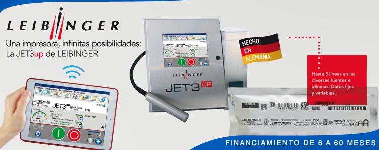 Codificadora Inkjet CIJ Leibinger JET3up - en Chile LAINK CHILE - LEIBINGER - MACSA ID - BLUHM WEBER